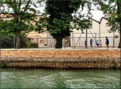 Cortile di scuola a Venezia