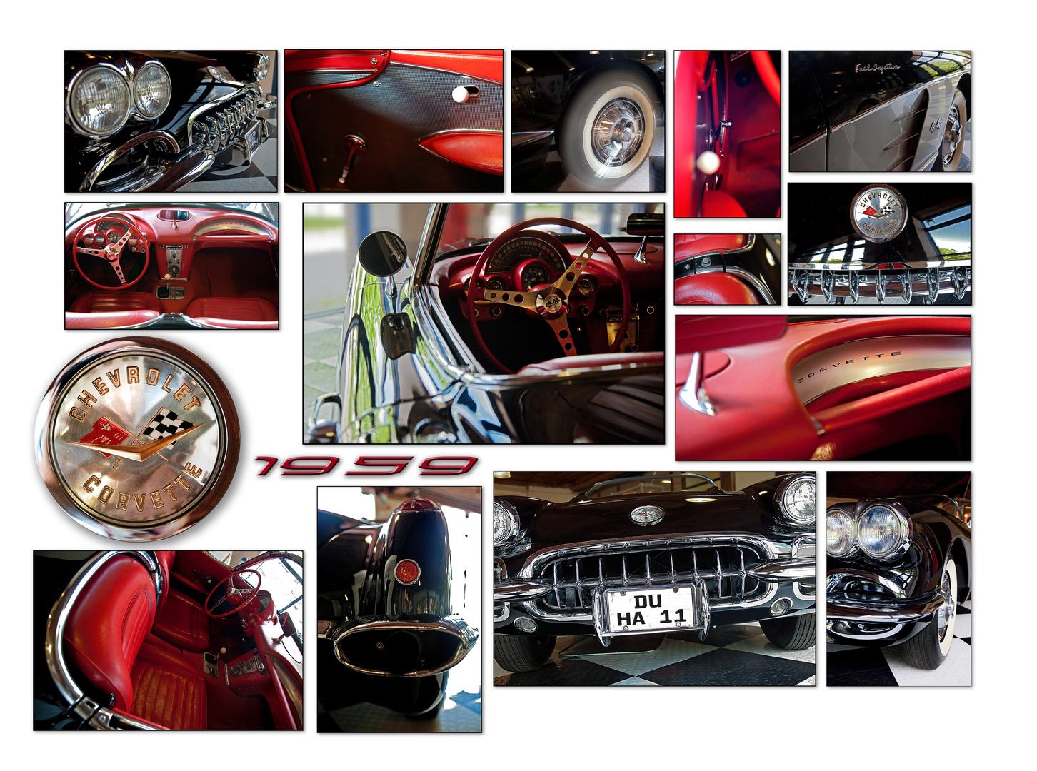 Corvette Collage