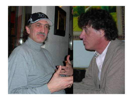 Cosa starà spiegando Maurizio ad Ivano? MMMAAA