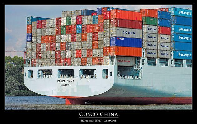 Cosco China - Hamburg(Elbe)