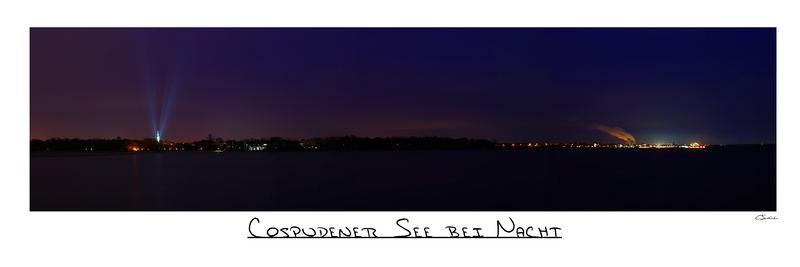 Cospudener See bei Nacht