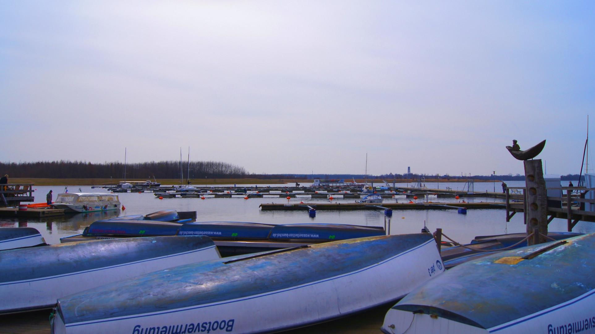 Cosputener See in Leipzig