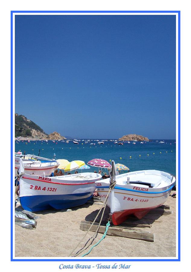 * * * Costa Brava - Tossa de Mar * * *