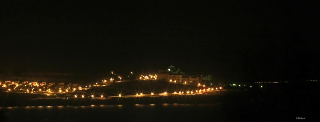 costa calma bei nacht