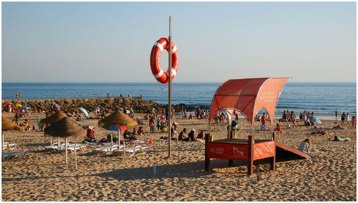 Costa de Caparica beach