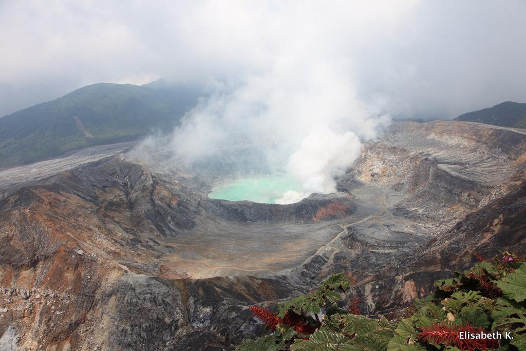 Costa Rica, Poás Vulkan