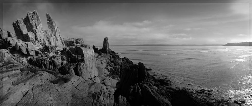 côte à marée basse