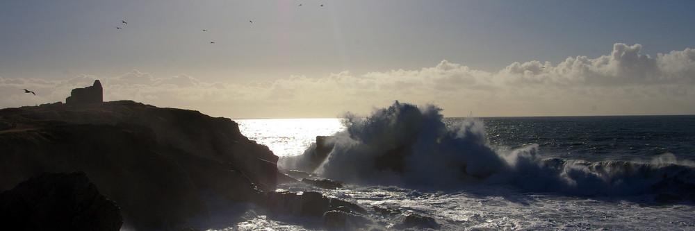 cote sauvage de Quiberon sous la tempête