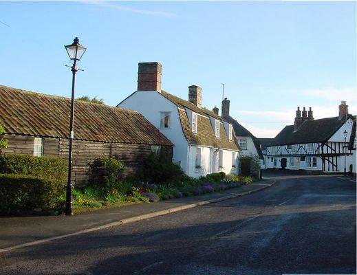 Cottages, Cambridgeshire, England