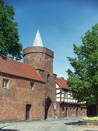 Cottbus - Stadtmauer - Lindenpforte