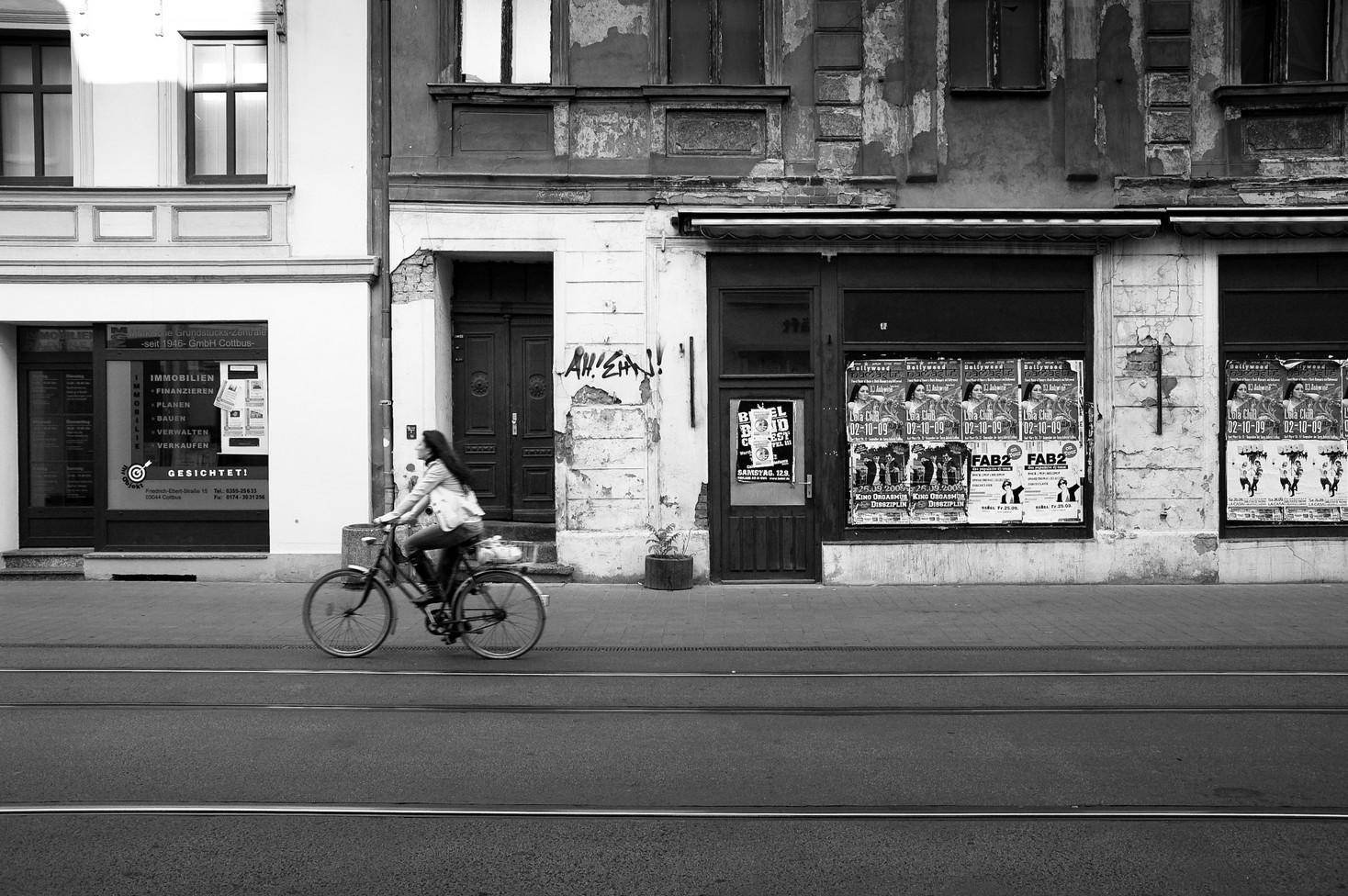 Cottbuser mit ihrem Fahrraeder 03