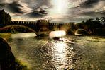Couchant sur l'Adige