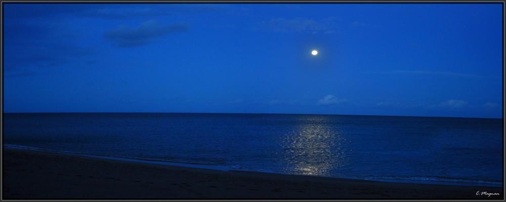 couché de lune à barcares