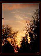 Couché de soleil à Granville