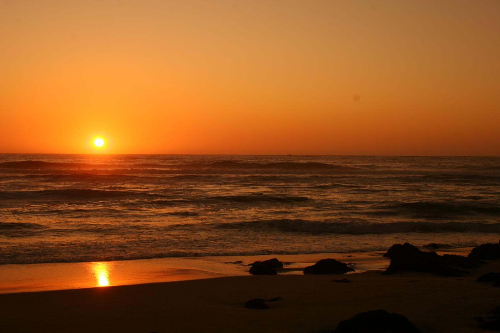 Couché de soleil au Portugal