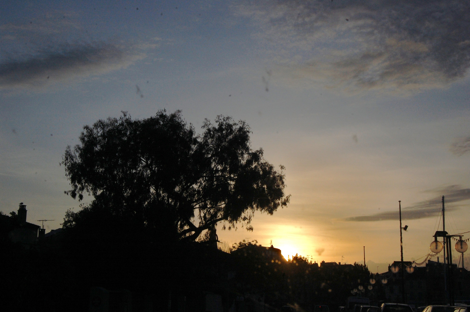 couché de soleil d un mois de Mai