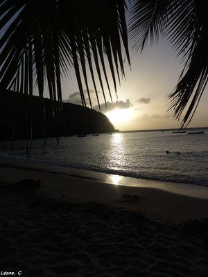 Couché de soleil, Martinique