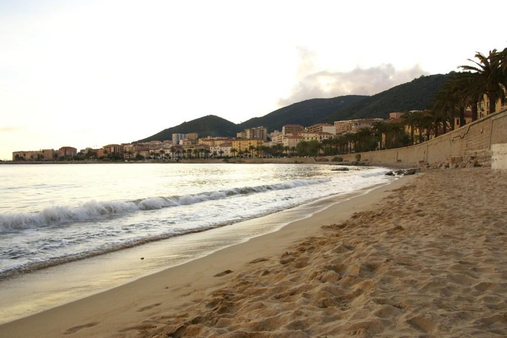Couché de soleil sur Ajaccio