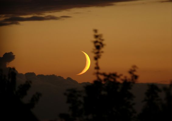 Coucher de lune