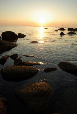 Coucher de solei en Finistère