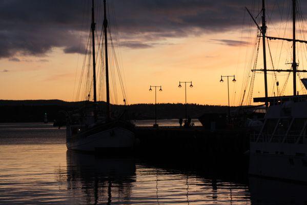 Coucher de soleil à 15h, Oslo