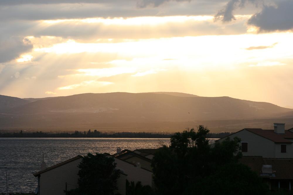 coucher de soleil à Barcarès