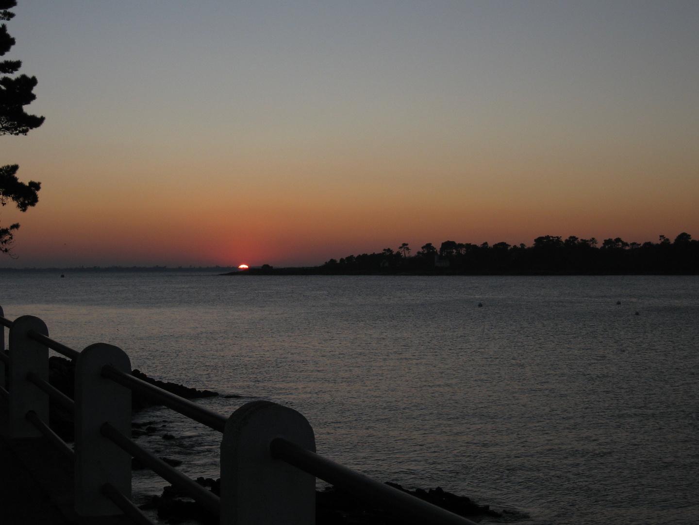 coucher de soleil à Benodet