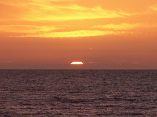 Coucher de soleil à Criel sur Mer