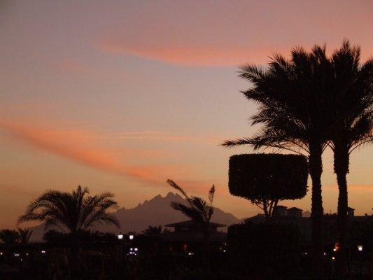 Coucher de soleil a Hurghada
