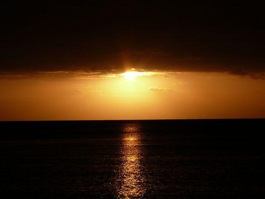 Coucher de soleil à l'Ile Maurice