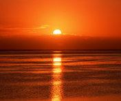 coucher de soleil a Sète