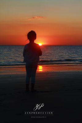 coucher de soleil à St Georges de Didonne