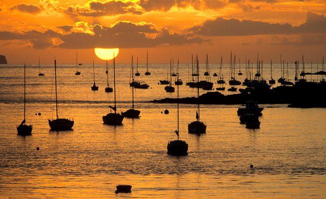 Coucher de soleil à St-Lunaire