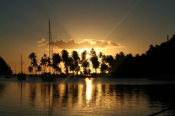 Coucher de Soleil à Ste Lucie