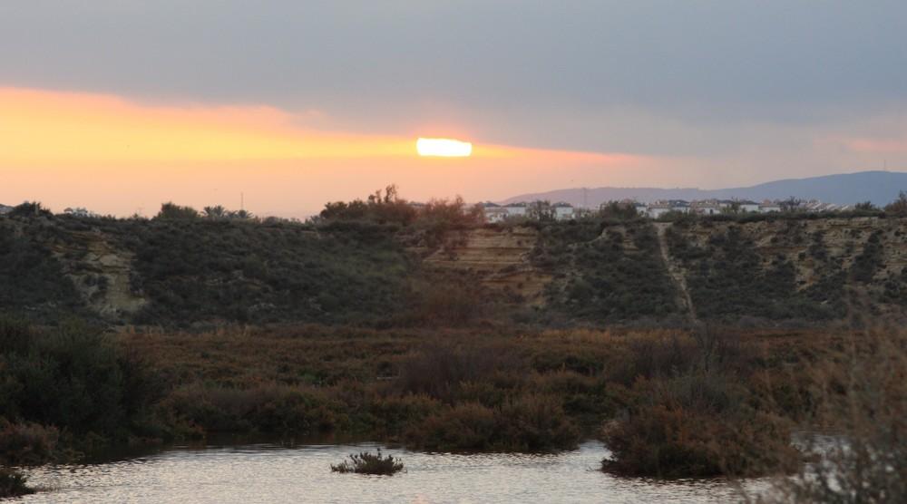 Coucher de soleil Andalou