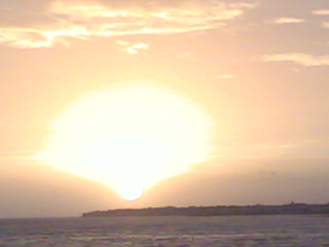 Coucher de soleil au Bout Blanc