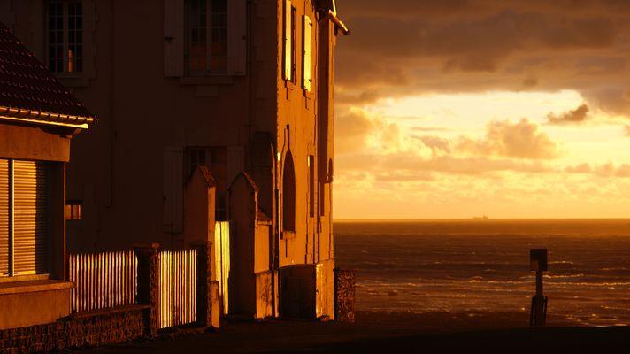coucher de soleil Audresselles