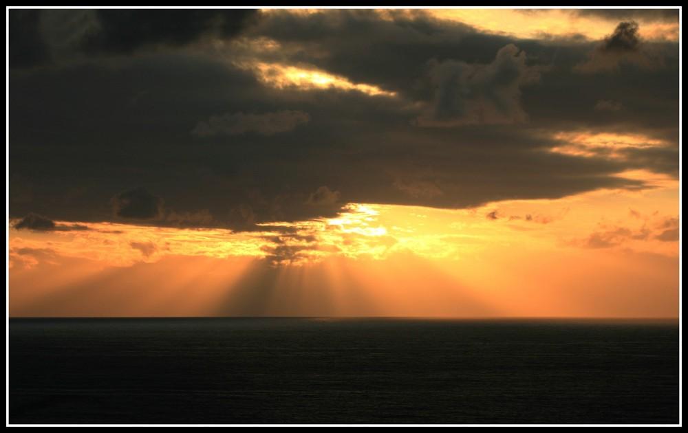 Coucher de soleil Biarritz