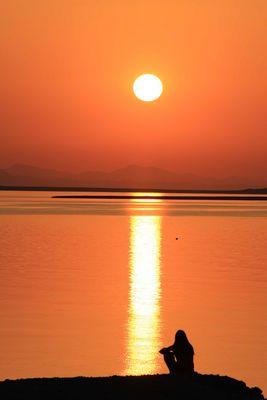 coucher de soleil egypte