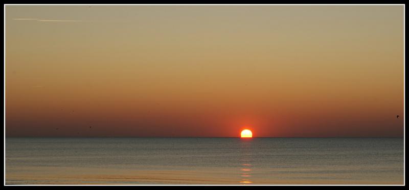 Coucher de soleil en Baie de Somme (2)