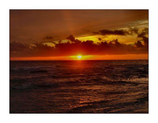 Coucher de soleil en Bretagne 2