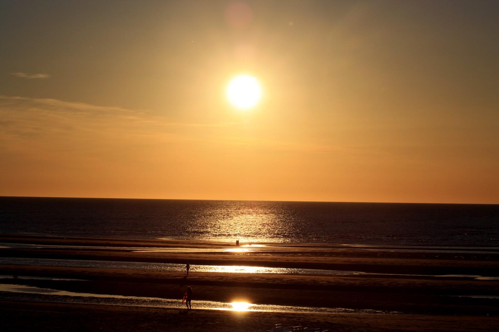 coucher de soleil en vacances