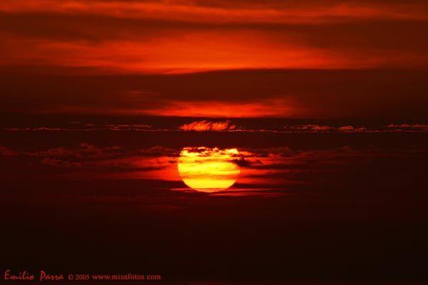 Coucher de soleil Espagne