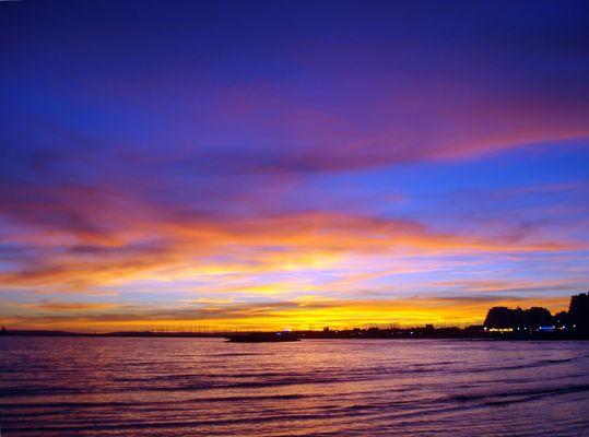 coucher de soleil La Grande Motte France