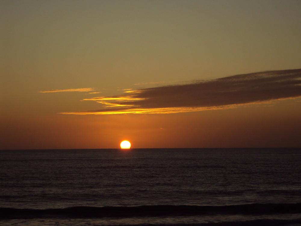 coucher de soleil lacanau 2009