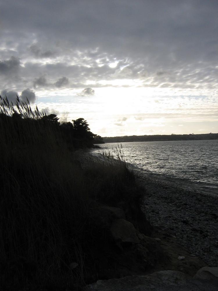 coucher de soleil Louannec 22 Côtes d'Armor