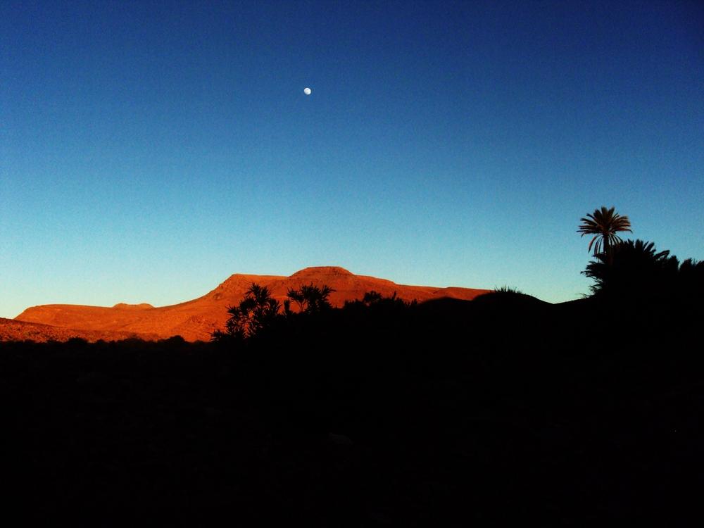 coucher de soleil Maroc 2009