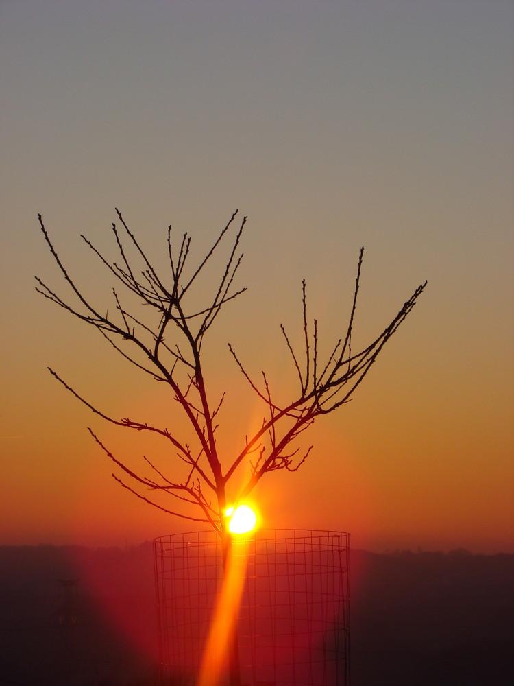 coucher de soleil nivernais
