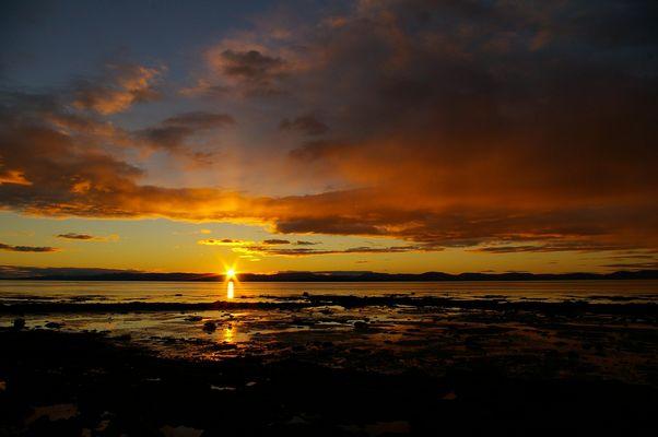 coucher de soleil (Rivière du Loup)2