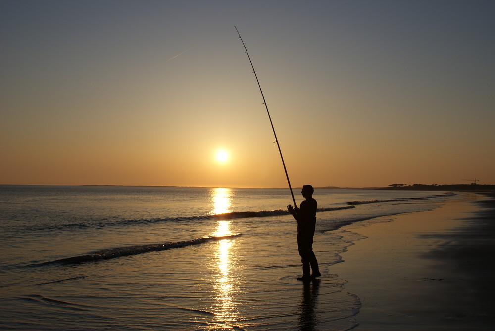 Coucher de soleil sur la baie !!!